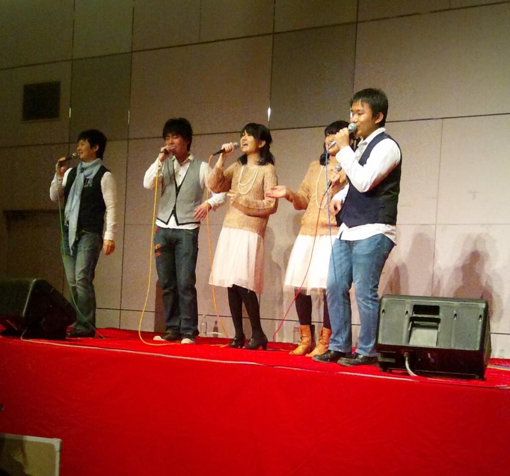 song-genicsコンサートを取材
