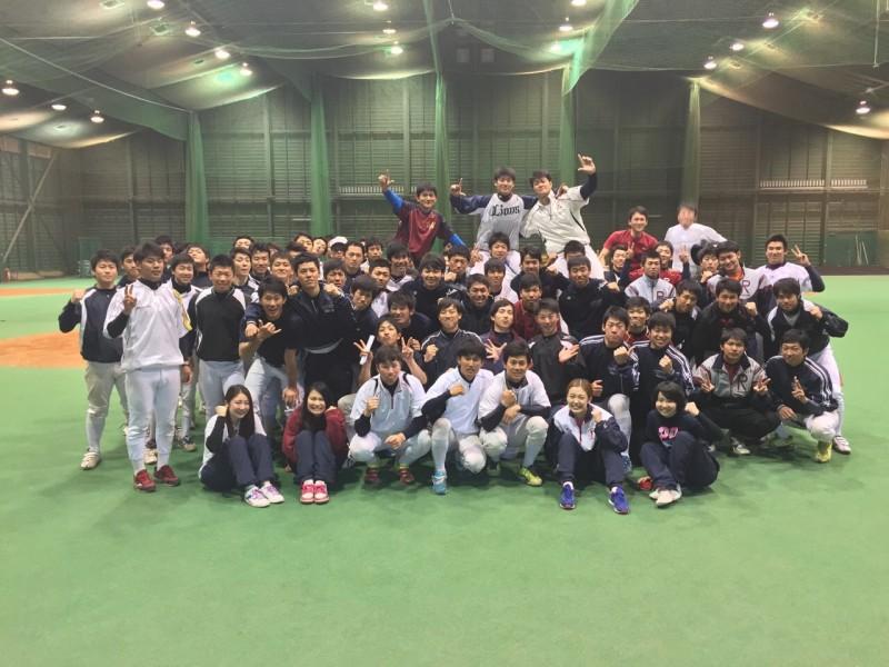 【硬式野球部】応援指導が行われました!
