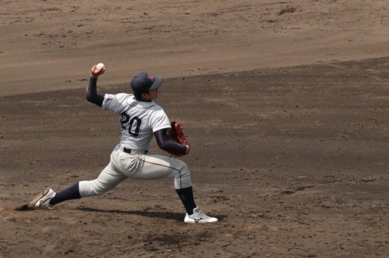 【硬式野球部】先発・東がノーヒットノーランの快挙