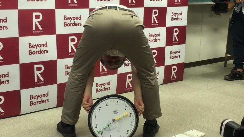 笑いを呼ぶ大発見 立命館大学東山篤規教授 イグノーベル賞受賞!