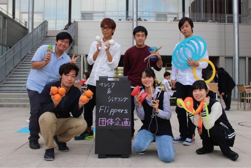 OIC学園祭典開催 マジック&ジャグリングで圧巻のパフォーマンスを披露